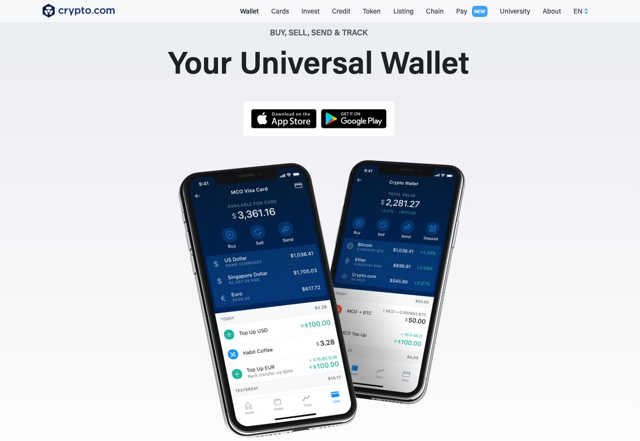 Crypto.com's Universal Wallet