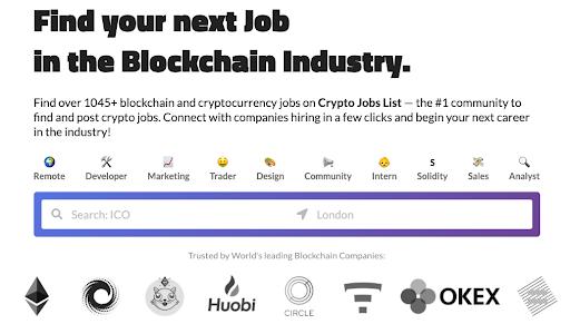 CryptoJobList