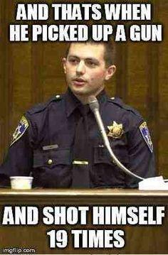 Corrupt cop meme