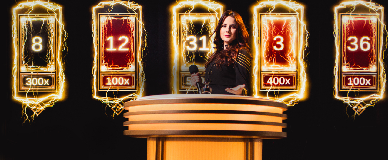 Live Lightning Roulette at Cloudbet