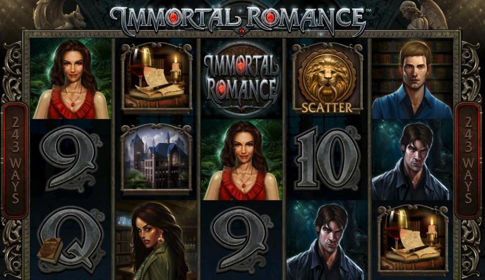 Immortal Romance bitcoin slot