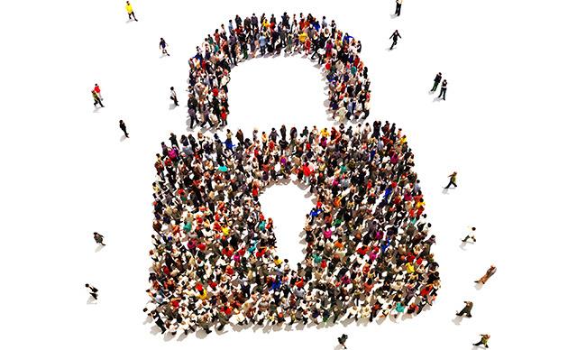 People lock