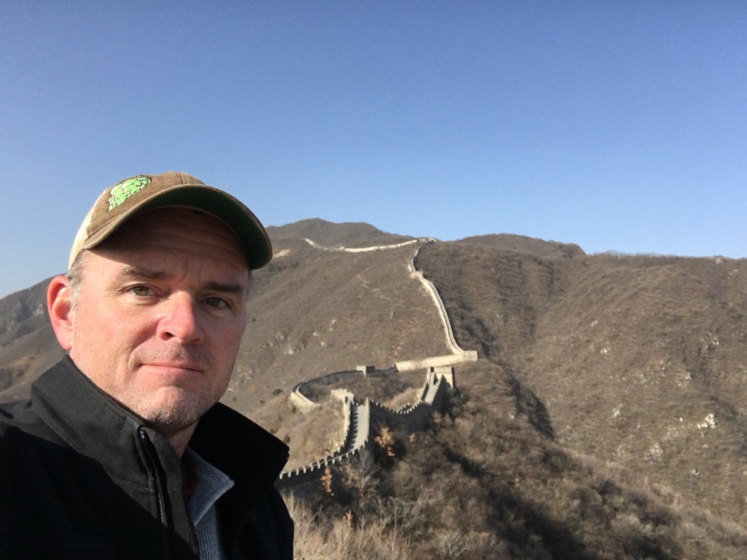 Eric at the Great Wall of China