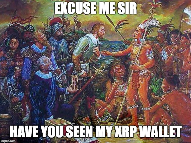 Excuse me sir, have you seen my XRP wallet?