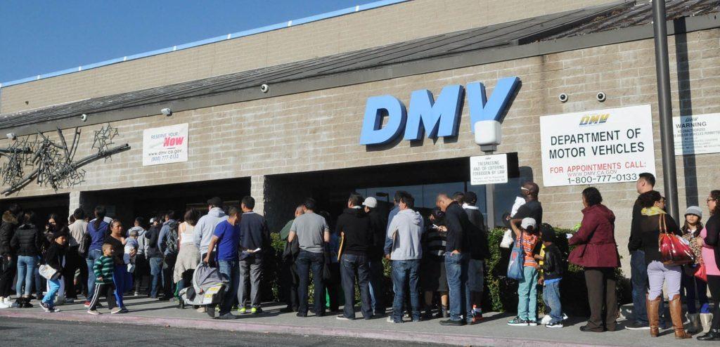 Queue to the DMV