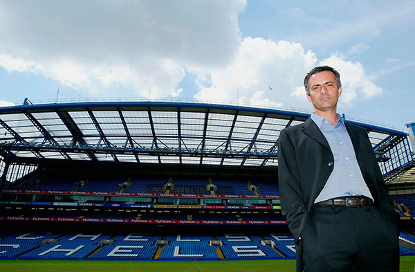 Mourinho at Chelsea: the Special One