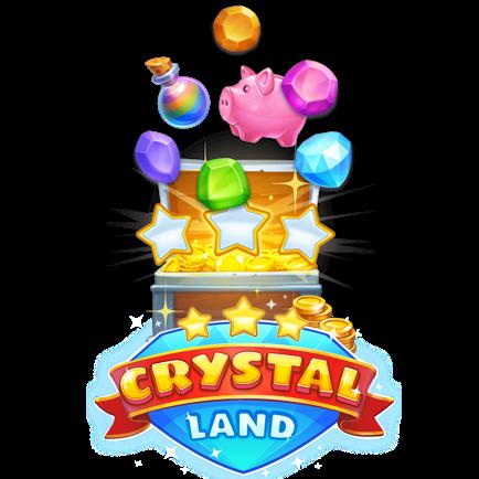 Crystal Land bitcoin slot