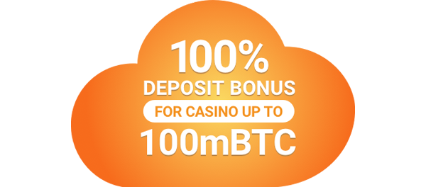 100% casino deposit bonus