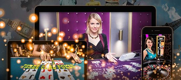 Global live dealer casinos