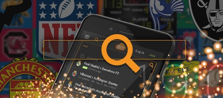 Event search and mobile search